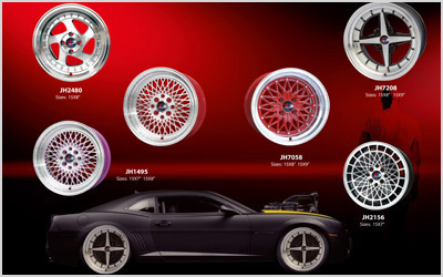 Five advantages of aluminum alloy wheels