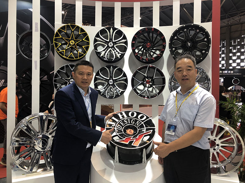 the Secretary General of China Aluminum Wheel CAW Association appreciates our design series