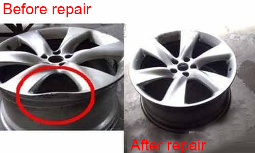 Can the deformation of the aluminum alloy wheel be repaired?