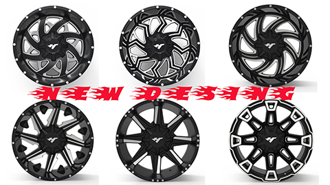 Aluminum alloy wheel modification and upgrade Main parameters of aluminum alloy wheel modification