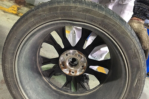 How to judge if the aluminum alloy wheel is deformed? How to replace deformed aluminum alloy wheels