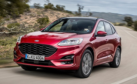 2020 Ford plug-in hybrid Kuga official image released