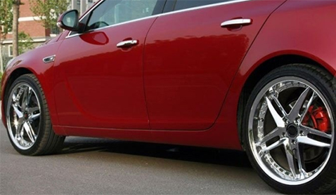 Is car wheel painting better or electroplating better?