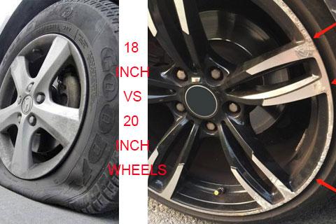 18 inch wheels VS 20 inch wheels
